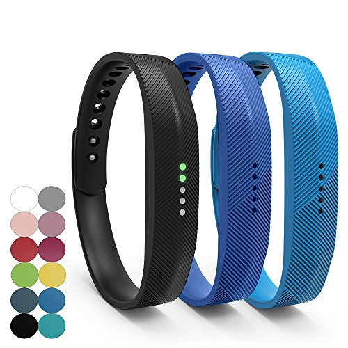 fitbit-flex-2-accessory-replacement-wristband-ifeeker-classic-soft-silicone-metal-clasp-watch-buckle