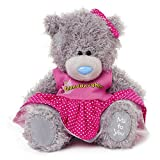 Me to You 6-inch Tatty Teddy Bear Wearing a Granddaughter Dress (Grey)