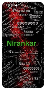 Nirankar (With No Shape (God)) Name & Sign Printed All over customize & Personalized!! Protective back cover for your Smart Phone : Moto G-4
