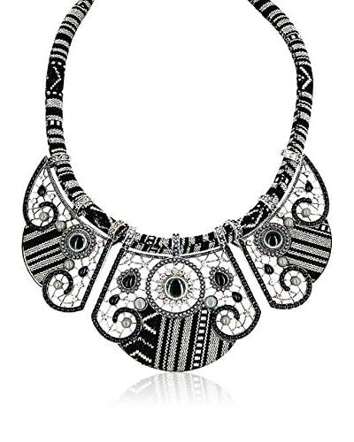 Chicstyle Collar «Scylla» Negro / Gris / Plateado