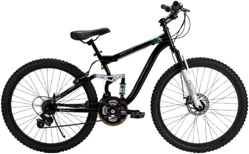 Huffy 26-Inch Ladies DS-7 Dual Suspension Bike (Black)