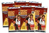 2008 Topps High School Musical II (Expanded) Card & Sticker Fun Packs - Disney Trading Cards (6 Pack Lot - 7 Cards/Pack) Pre-Sell, Ships Upon Arrive Week of April 15th