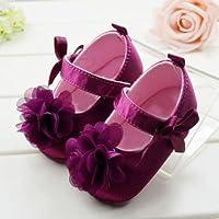 Itaar Girls Prewalker Toddler Cute Flower Bowtie Antiskid Shoes Sneaker by Itaar