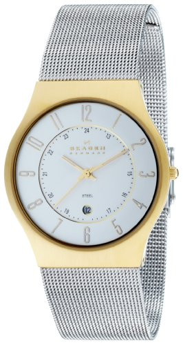 Skagen Gents Watch Slimline Steel 233XLGS