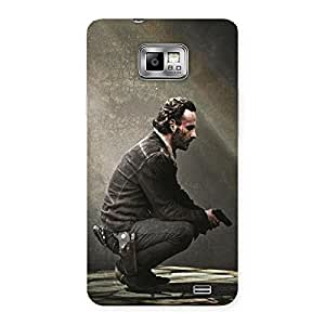 Ajay Enterprises Extant Doc Observing Back Case Cover for Galaxy S2