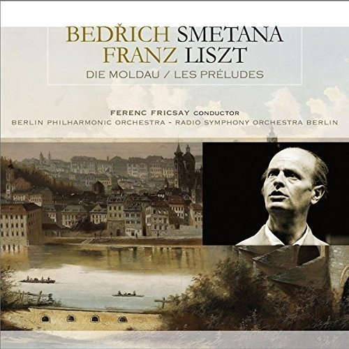 Vinilo : SMETANA,BEDRICH / LISZT,FRANZ - Die Moldau / Les Preludes