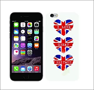 Galaxy Printed 1467 British Icon Hard Cover for Apple Iphone 6 plus