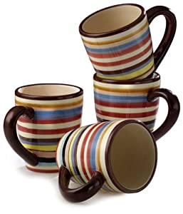Tabletop Lifestyles Sedona 16-Ounce Mug, Set of 4