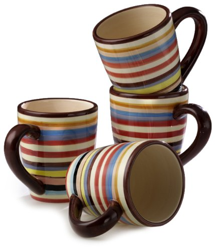 Tabletop Lifestyles Sedona 16-Ounce Mug, Set of 4