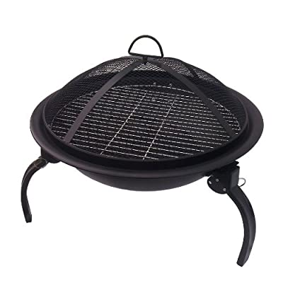 Grants Portable Firebowl Firepit Bbq by Grants