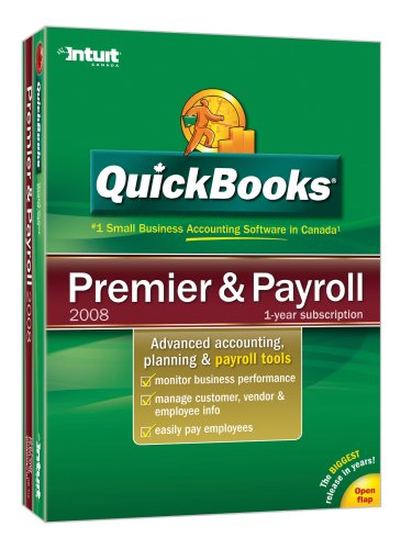 Quickbooks Premier plus Payroll 2008 [Old Version]