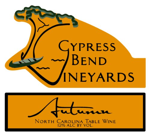 Nv Cypress Bend Vineyards Autumn North Carolina Red Table Wine 750 Ml
