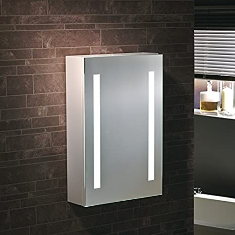 """Varese"" - LED Bathroom/Bedroom Mirror Illuminated with LED Lights - H60cm x W45cm - FREE NEXT DAY DELIVERY"