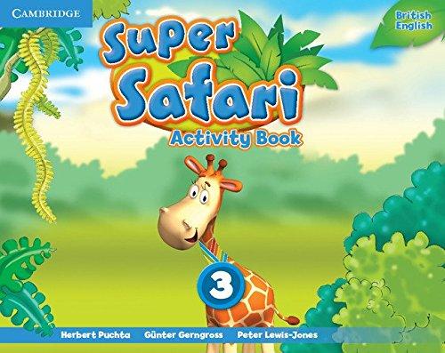 Super Safari Level 3 Activity Book (Super Minds)