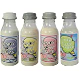 Candy Floss Sugar Pack of 4 Flavours (225g) Suitable for Candy floss machines - Cotton Candy