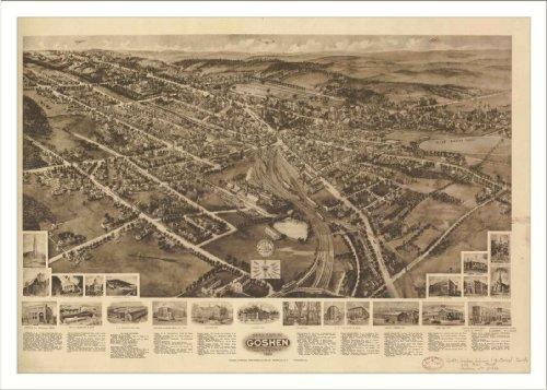 Historic Goshen, New York, c. 1922