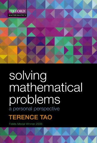Solving Mathematical Problems: A Personal Perspective