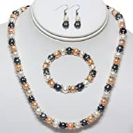 Multi-Color Freshwater Pearl Necklace…