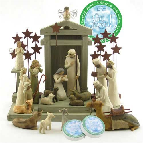 Willow Tree Complete 23 Piece Nativity Set By