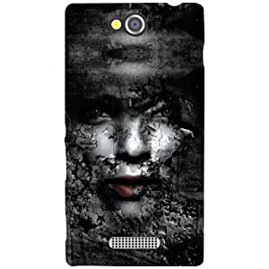 Sony Xperia C Phone Cover -Horrro Matte Finish Phone Cover