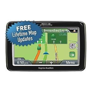Magellan RoadMate 3030LM 4.7寸便携式宽屏汽车导航仪(Lifetime Map Updates Included)