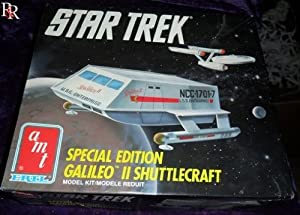 Star Trek Special Edition Galileo 2 Shuttlecraft Model Kit