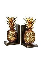 Premier Housewares Set Sujetalibros 2 Uds. Pineapple