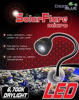 Solar Flare Micro Gooseneck 6700K Led Light