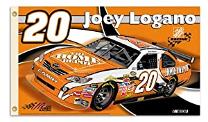 Buy #20 Joey Logano 2 sided 3x5 NASCAR Flag by BSI