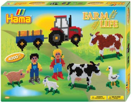 Hama / Farm Fuse Beads Gift Set