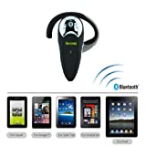 iKross Wireless Bluetooth Handsfree Headset for Apple iPad 1 2 3 4 Mini Air and more Tablet Cellphone Smartphone