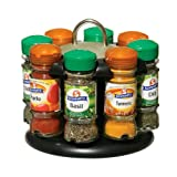 Premier Housewares Revolving Spice Rack with Schwartz Spices (Spice Rack 8)