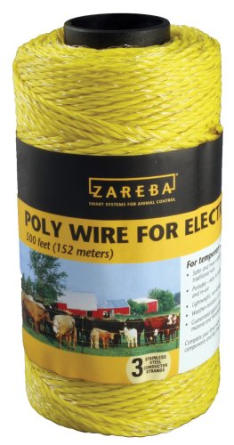 Zareba 500 Feet Yellow Poly Wire  RSW500 (Poly Wire compare prices)