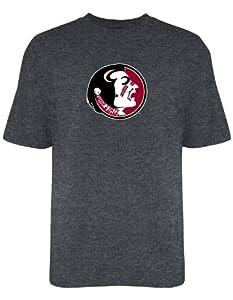 Buy Florida State Seminoles Mens T Shirt Charcoal by Elite Fan Shop