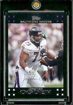 2007 Topps Football # 283 Jonathan Ogden - Baltimore Ravens - NFL Trading Cards