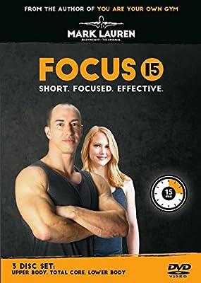 Mark Lauren | Focus 15 3 DVD Set
