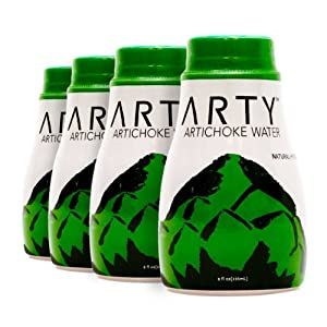 Arty Pure Natural Artichoke Water, 8oz (Pack of 4)