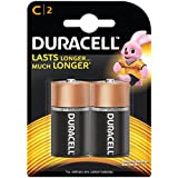 Duracell Alkaline Battery C With Duralock Technology (2 Pieces)