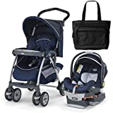 Chicco 04060796460 Cortina Keyfit 30 Travel System With Diaper Bag - Pegaso