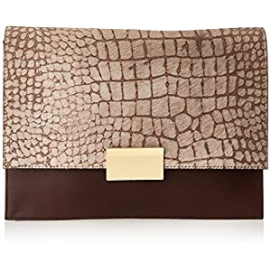 Vince Camuto Caleb Clutch,T.Moro/Ash Gray,One Size