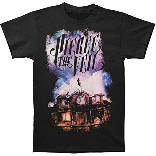 Pierce The Veil Collide con il cielo Slim Fit maglietta Black M