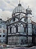 ヴェネツィアI - アーカイブ紙上のファインアートプリント - 大 : 119 cms X 160 cms