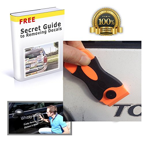 Whizzy-Car-Sticker-Remover-Plastic-Razor-Blade-with-20-Plastic-Razor-Blade-Edges-10-Double-Sided-Blades