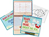 Ready, Set, Draw Under the Sea! (How to Draw Kit) (Activity Books) (Young Artist)