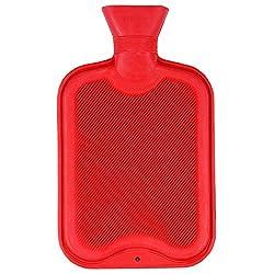 Medex Rubber Hot Water Bottle 2 Ltr (Red)