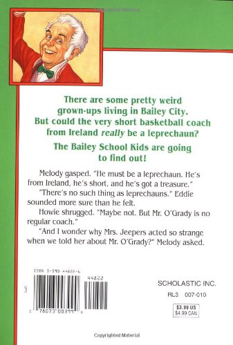 a response to leprechuans dont play basketball by debbie dadey and marcia jones