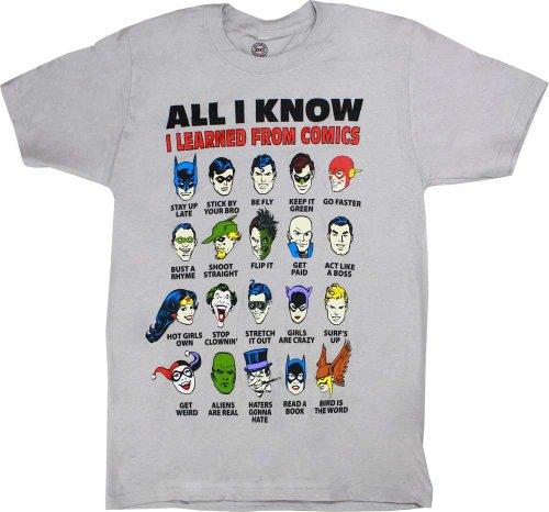"DC Comics Superman Batman ""I Learned From Com…"
