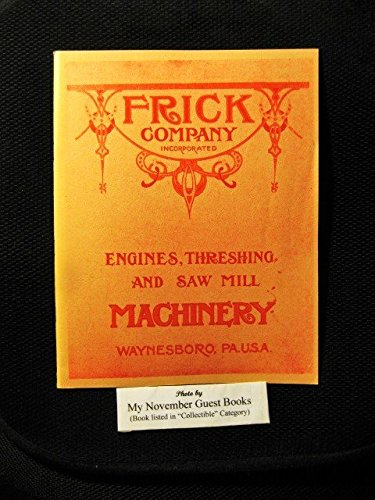 FRICK COMPANY. Manufacturers