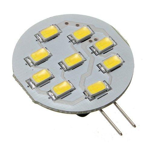 Kingso G4 3W Led 9 Smd 5630 Car Warm White Light Bulb Lamp Dc 12V
