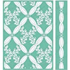 Cuttlebug 5X7 Embossing Folder/Border Set-Anna Griffin Climbing Rose